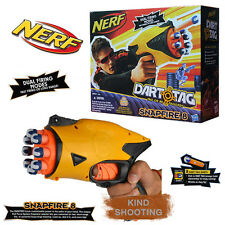 HASBRO NERF DART & TAG SNAPFIRE 8 KIDS CHILD SHOOTING PLAY SET BLASTER GUN TOY