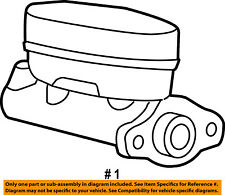 FORD OEM-Brake Master Cylinder 4L2Z2140BA