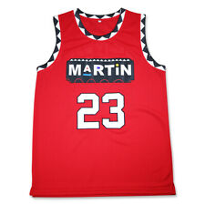 Martin Payne The Series Martin Throwback Basketball Jersey Red
