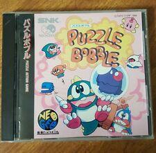 Puzzle Bobble (NeoGeo CD, 1995) JP, Region-free