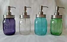 BALL Mason Jar STAINLESS STEEL SOAP DISPENSER Pint Gift