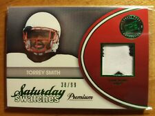 TORREY SMITH 2011 SATURDAY 2CLR GAME USED JERSEY ROOKIE RC #38/99! RAVENS HERO!