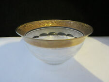 Rare antique art deco moser cristal splendide coupe petit bol 4 5/8 pouces diamètre