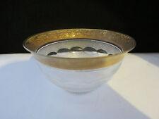 Rare Antique Art Deco Moser Crystal Splendid Cut Small Bowl 4 5/8 Inch Diameter