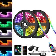 RGB LED Stripe 5050 SMD 5m Leiste Streifen Band Licht Leuchte XMAS Lichterkette