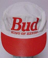 Vtg 1990s BUD KING OF BEERS Budweiser American Lager Advertising Painters Cap