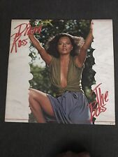 DIANA ROSS THE BOSS VINYL PS FUNK / SOUL / DISCO