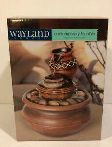 Wayland Square Contemporary Fountain High Plains Bowl Fountain (E)