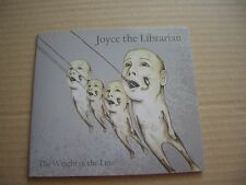 JOYCE THE LIBRARIAN - THE WEIGHT OF THE LINE - PROMO / ACETATE CD SINGLE - NEW