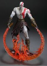 "NECA 7"" God of War 2 Kratos Flaming Blades of Athena PVC Action Figure FIGURINES"
