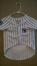 Dog Halloween Costume New York Yankees Baseball Shirt  Size Large Pets First