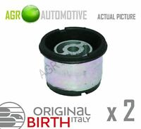 2 x BIRTH FRONT AXLE BEAM MOUNTING BUSHES GENUINE OE QUALITY REPLACE 51809