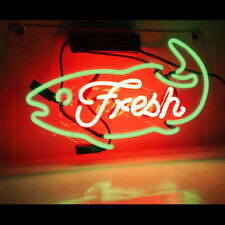 Fresh Neon Sign Light Store Display Sign Real Neon 15'' x 10'' TN161