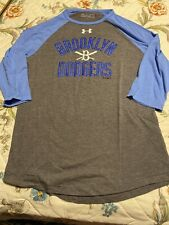 Under Armour Men's M Brooklyn Dodgers Baseball Shirt, Blue And Gray