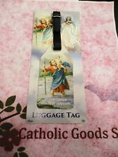 St Saint Christopher, Patron of Travelers - Luggage Tag