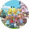 """Bananas In Pyjamas  7"""" /18cm Edible Image Cake, Cupcake Toppers Wafer /Icing"""