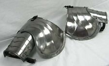Medieval Knight Costume - Gothic Steel Shoulder Armor