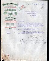 """DIJON (21) USINE du CHINOIS / MOUTARDE & CONSERVES """"J. FAGART"""" en 1923"""