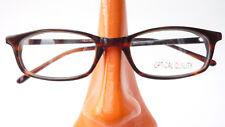 Fassung Kunststoffgestell Brille Gestell rotbraun mit schmaler Form Damen Gr S