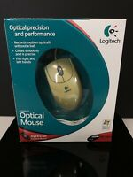 BRAND NEW Open Box Logitech OPTICAL PRECISION & PERFORMANCE WIRED PC/MAC Mouse