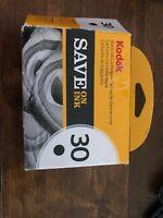 Genuine Kodak 30 Black Printer Ink Cartridge NEW FAST FREE SHIPPING