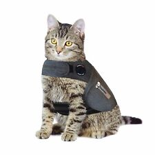 New ListingNew ThunderShirt Cat Anxiety Calming Effect Vest Gray Large (Up To 13 lbs)