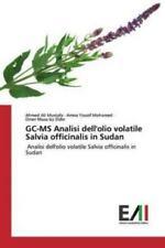 GC-MS Analisi dell'olio volatile Salvia officinalis in Sudan Analisi dell'o 5948