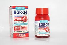 2X HERBAL BGR-34 TABLETS Blood Glucose Metaboliser Ayurvedic 200 Tablet