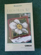 Wonder Art Latch Hook Kit Caron Magnolia #4671 New In Box
