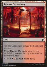 4x Rakdos Carnarium | NM/M | Commander 2017 | Magic MTG