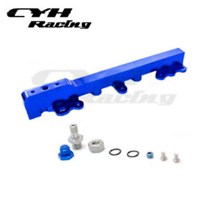 Aluminum Fuel Rail Kits For  Honda Civic CRX 88-91 D15 D16  D-Series-Blue