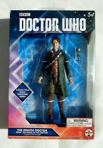 Doctor Who The Eighth Doctor from The Night Of The Doctor Collector Figure