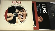 Elvis Presley - Legendary Performer Vinyl LP w/ Booklet RCA CPL1-0341 Hits 1973