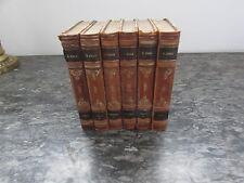 emile zola les trois villes rome lourdes paris 1928 1929 en 6 volumes