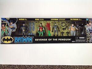 2002 BATMAN REVENGE OF THE PENGUIN SET , unopened