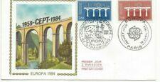 Envelope CEF 1er Jour France Europa 1984
