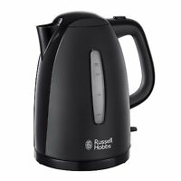 Russell Hobbs Cordless Electric Kettle High Texture 1.7L Jug Rapid Boil Black