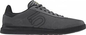 Five Ten Sleuth DLX Grey Six / Core Black / Matte Gold - Flat Pedal MTB Shoes