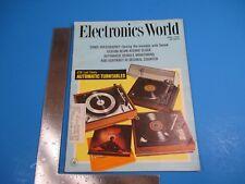 Vintage Electronics World Magazine June 1970 Automatic Vehicle Monitoring M3198
