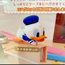 Disney Friends Hugcot Cable Hugger Gachapon Japan ~ Donald Duck ~ New