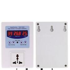 LED Digital Temperature Controller Outlet Thermostat Control Switch AC 110V 10A