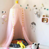Princess Kids Baby Bed Canopy Mosquito Net Dome Tent Curtain Bedcover Decor WW
