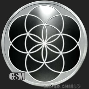 2017 Silver Shield John LennondisOBEY Series 1 oz Limited Mintage Proof