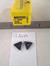 7 New Kennametal 16nr 16un Threading Carbide Inserts Grade Kc5025 Ref U610