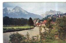 CPA ALLEMAGNE  berchtesgaden blick vom bergwerk