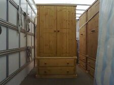 PINE FURNITURE ASHBOURNE SPECIAL LIMITED OFFER GENTS 2 DRAWER ROBE NO FLAT PACK