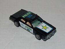 Hot Wheels Sheriff Patrol - Tan Interior Tinted Windows Sp7's - Malaysia 1996
