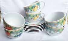 Wedgwood Eden Tea Cups and Saucers x 6 - Multiple Available
