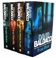 David Baldacci King and Maxwell 4 Books Collection Set First Family,Simple Geniu