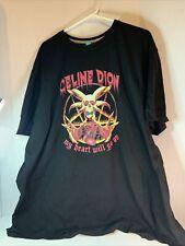 Celine Dion Death Metal Shirt 5XL (See measurements)